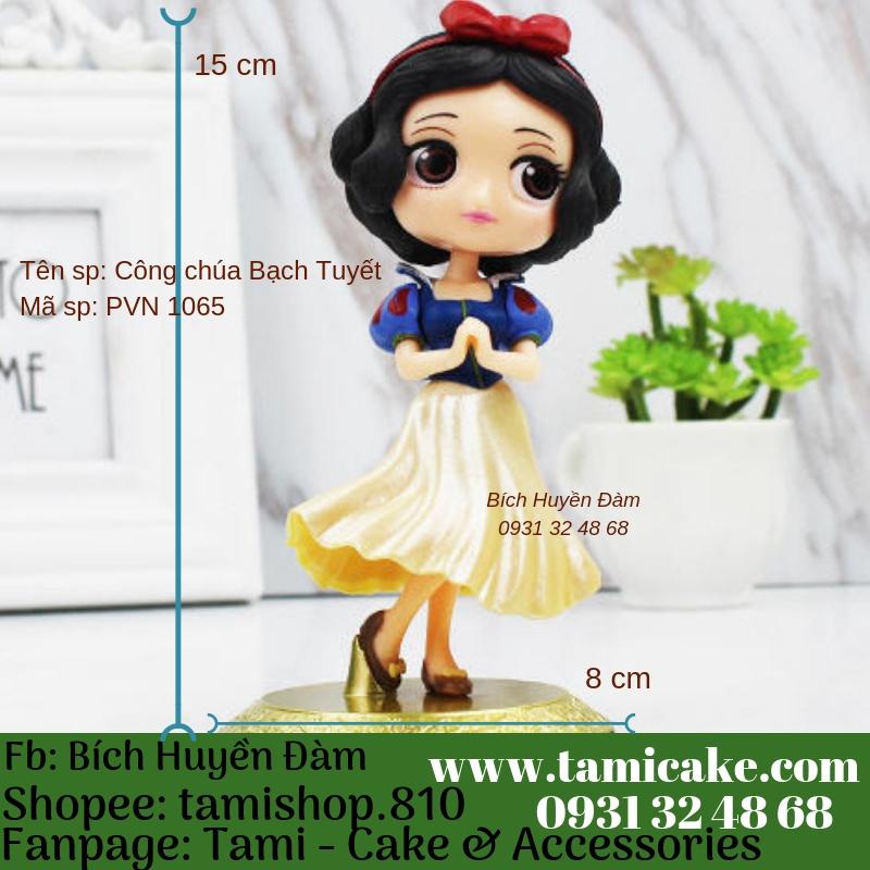 Phụ kiện trang trí- Công chúa Bạch Tuyết PVN1065