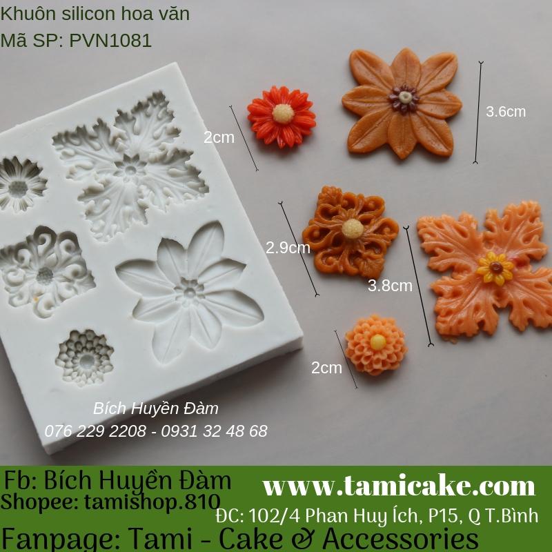 Khuôn silicon hoa văn 1081