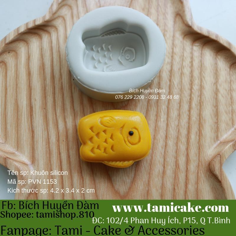 Khuôn silicon PVN1153 (khuôn làm bánh trung thu 50g)