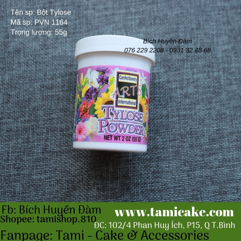 Bột Tylose (55g) - PVN1164