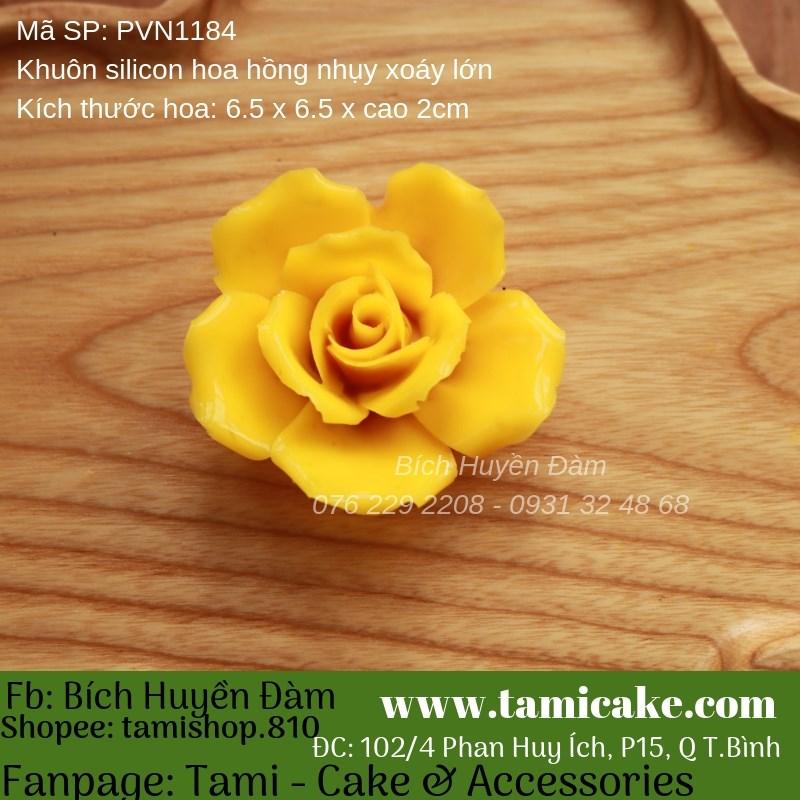 Khuôn silicon hoa PVN1184
