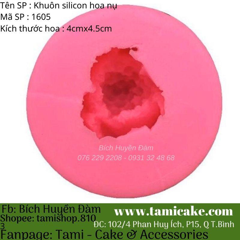 Khuôn silicon hoa nụ 1605