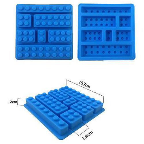 Khuôn Silicon Rau Câu Hoa Nổi - Khuôn Lego