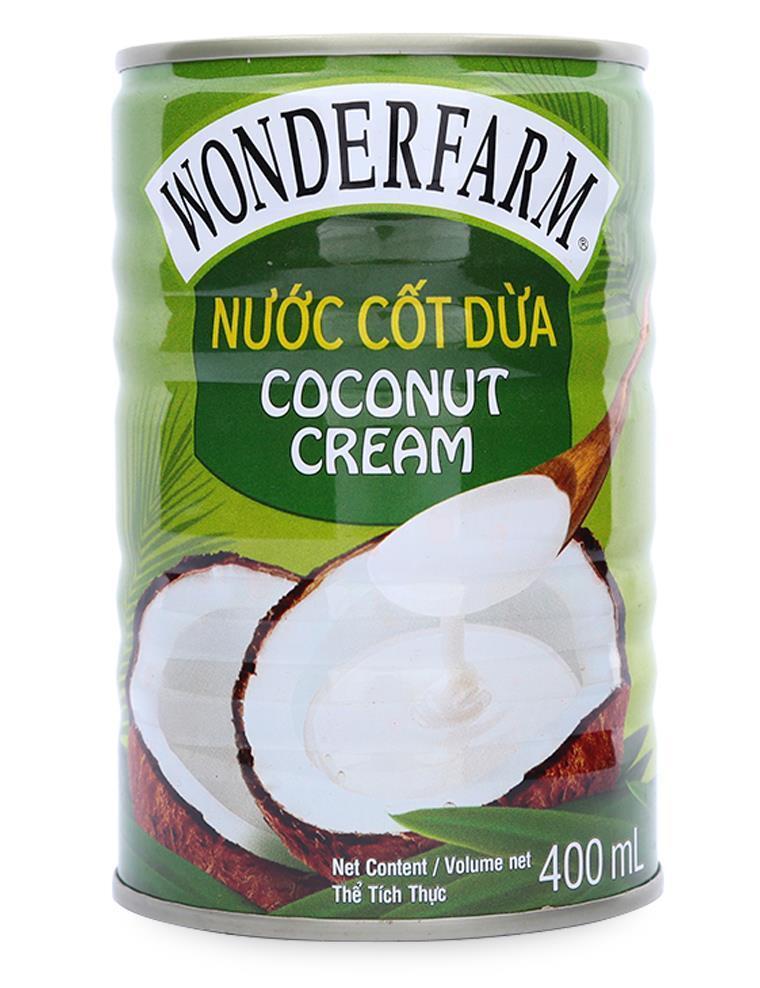 Nước cốt dừa lon Wonderfarm