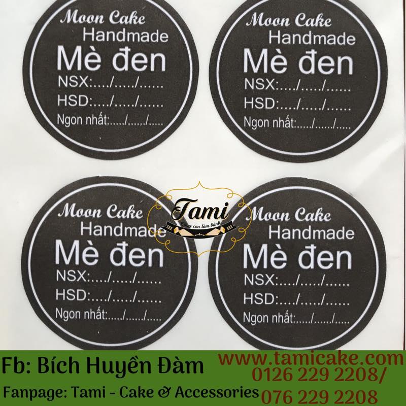 Tem nhân Mè Đen có NSX và HSD- 1 xấp 50 tem