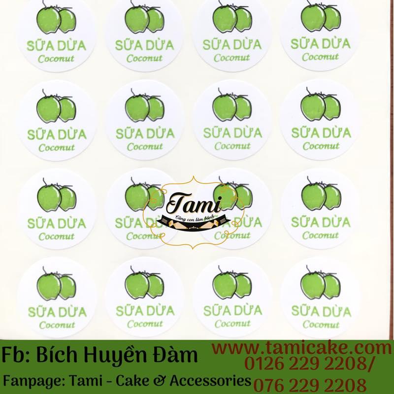 Tem Nhân Bánh Trung Thu- Sữa Dừa