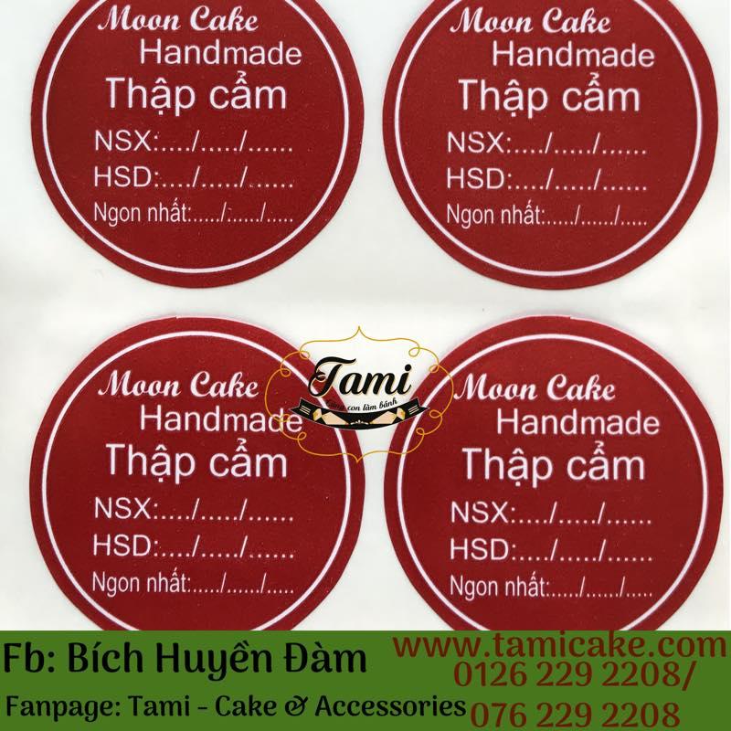 Tem nhân Thập Cẩm có NSX và HSD- 1 Xấp 50 tem