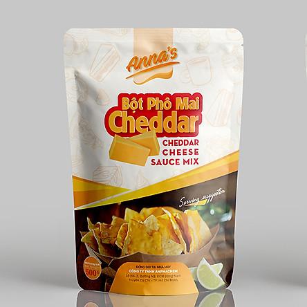 Bột phô mai Cheddar cam (500gram)