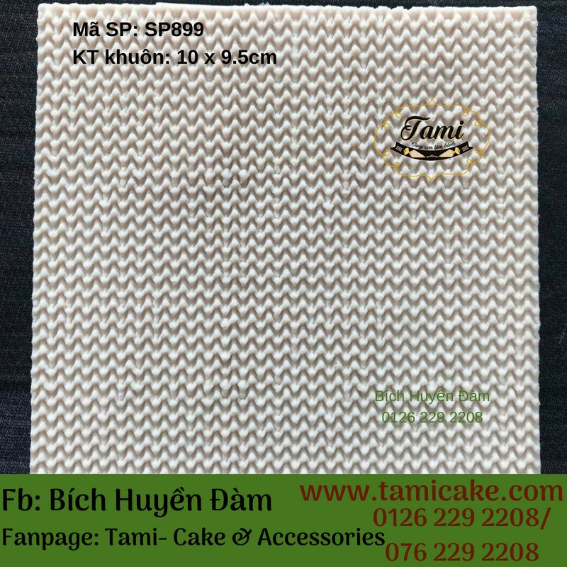 Khuôn silicon nhấn mặt trung thu đan rổ SP899