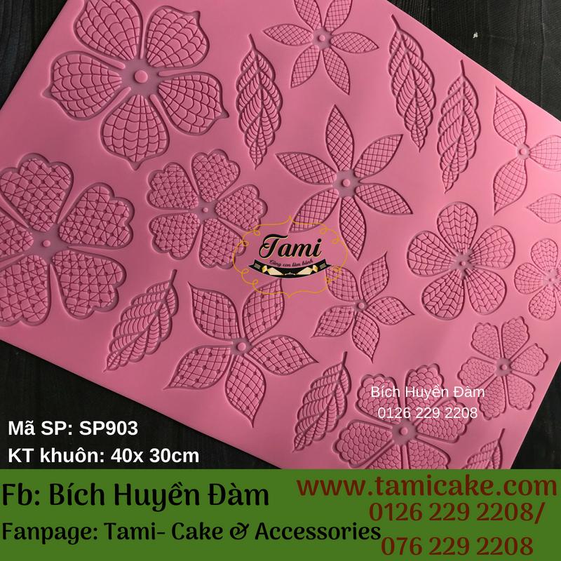 Khuôn ren silicon SP903