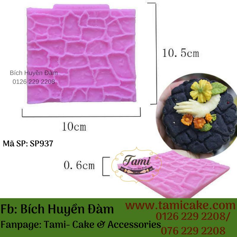Khuôn silicon- Vân gạch SP937