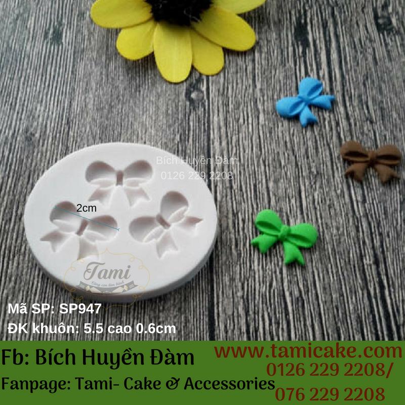 Khuôn silicon 3 nơ SP947