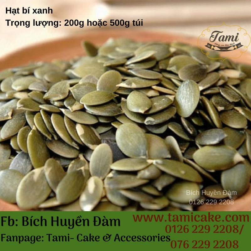 Hạt bí xanh (500g)