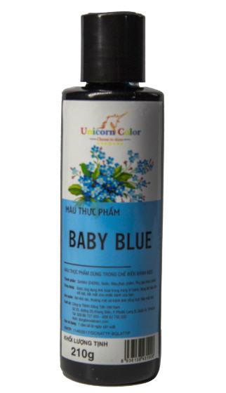 Màu thực phẩm siro Unicorn- BABY BLUE
