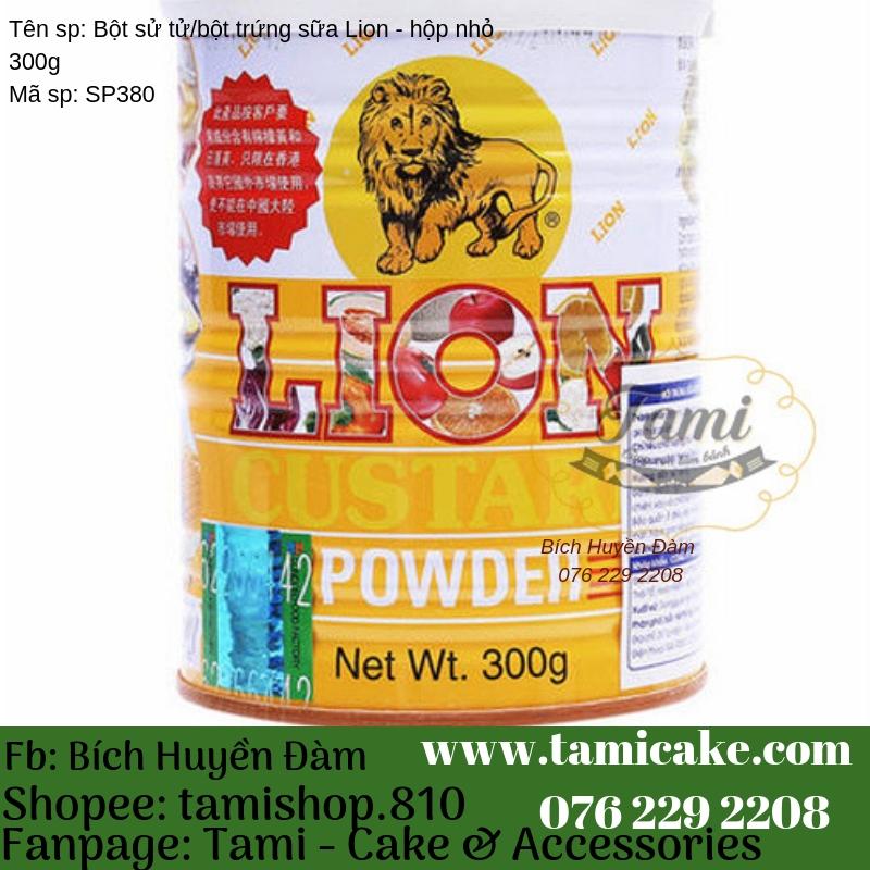 Bột sư tử/ Bột trứng sữa LION – hộp nhỏ 300g