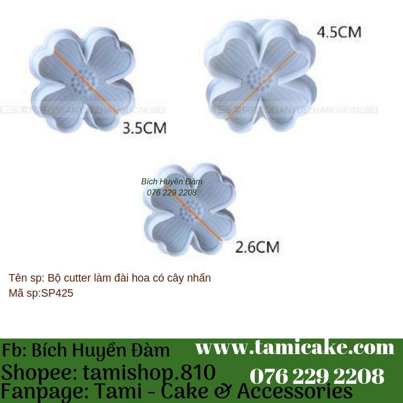 Bộ cutter hoa 4 cánh