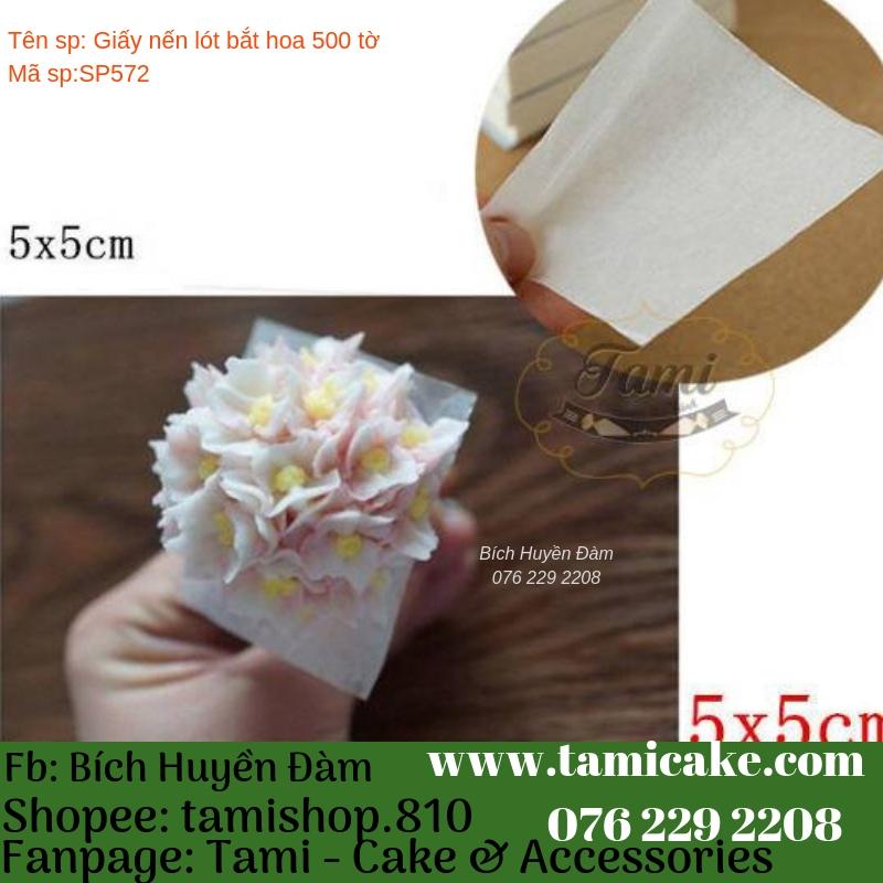 Giấy Nến Lót Bắt Hoa (500 tờ)