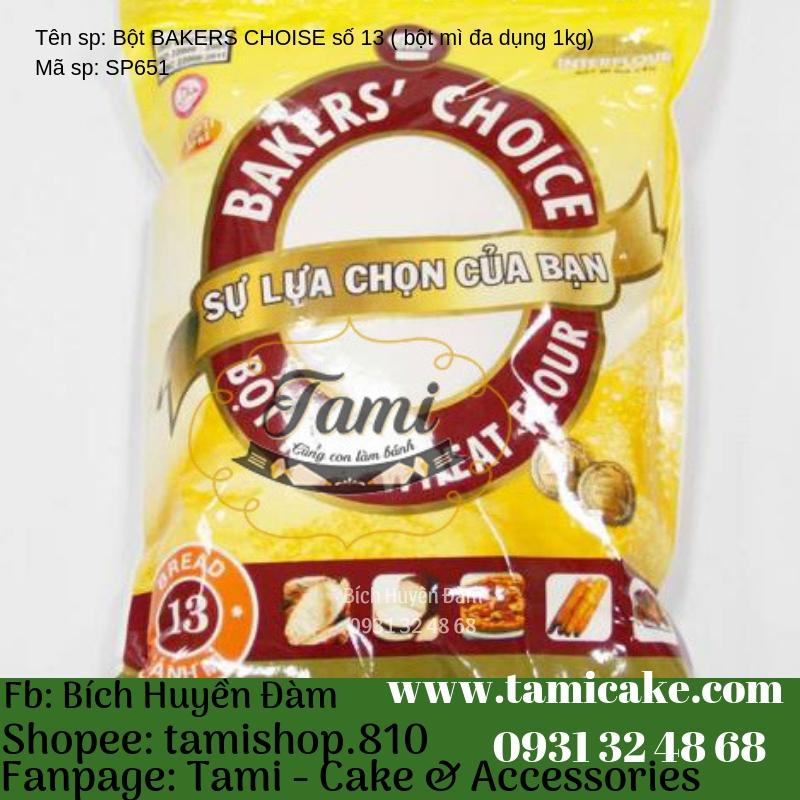 Bột Bakers Choice số 13 ( bột mì đa dụng ) 1kg