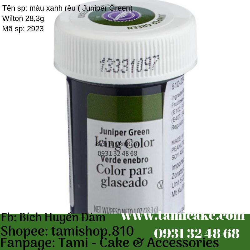 Màu Xanh Rêu (Juniper Green) Wilton 28,3g