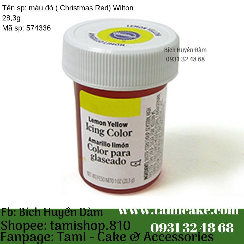 Màu Vàng (Lemon Yellow) Wilton 28,3g