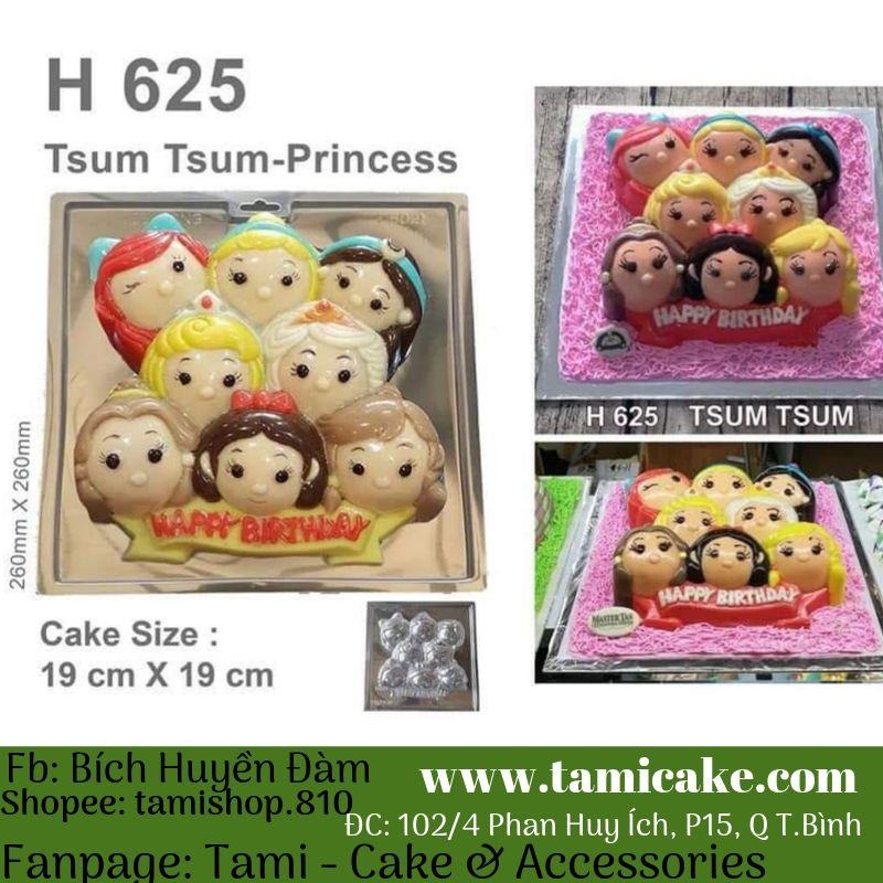 Bộ khuôn Tsum Princess