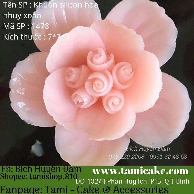 Khuôn silicon hoa 1478