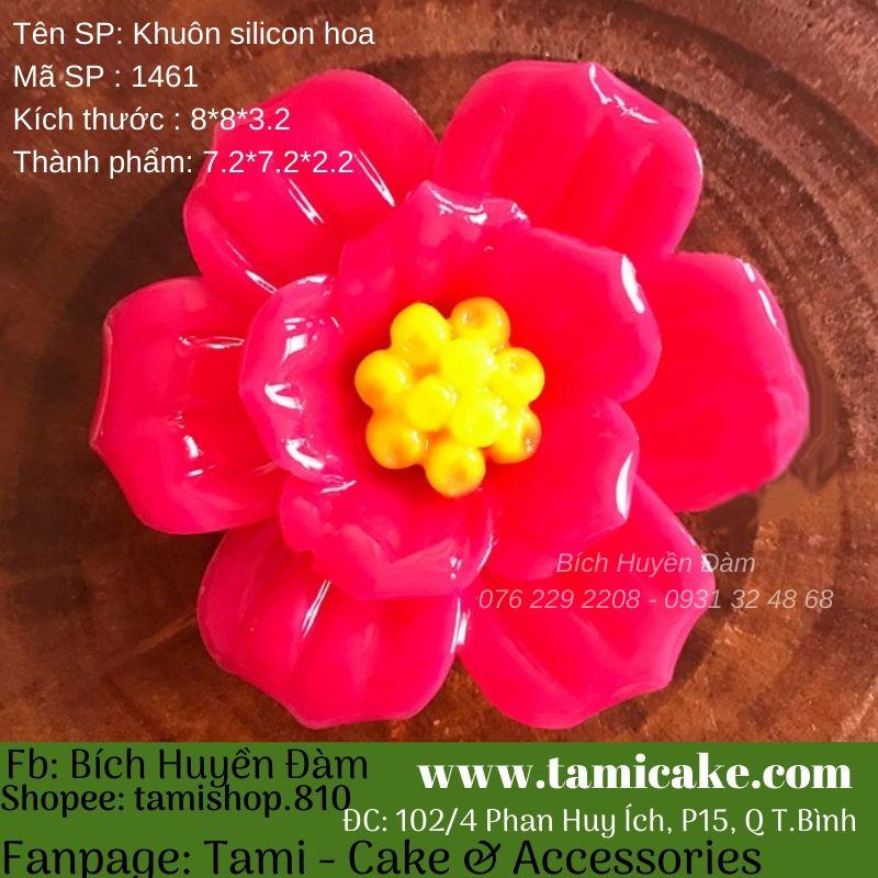 Khuôn silicon hoa 1461