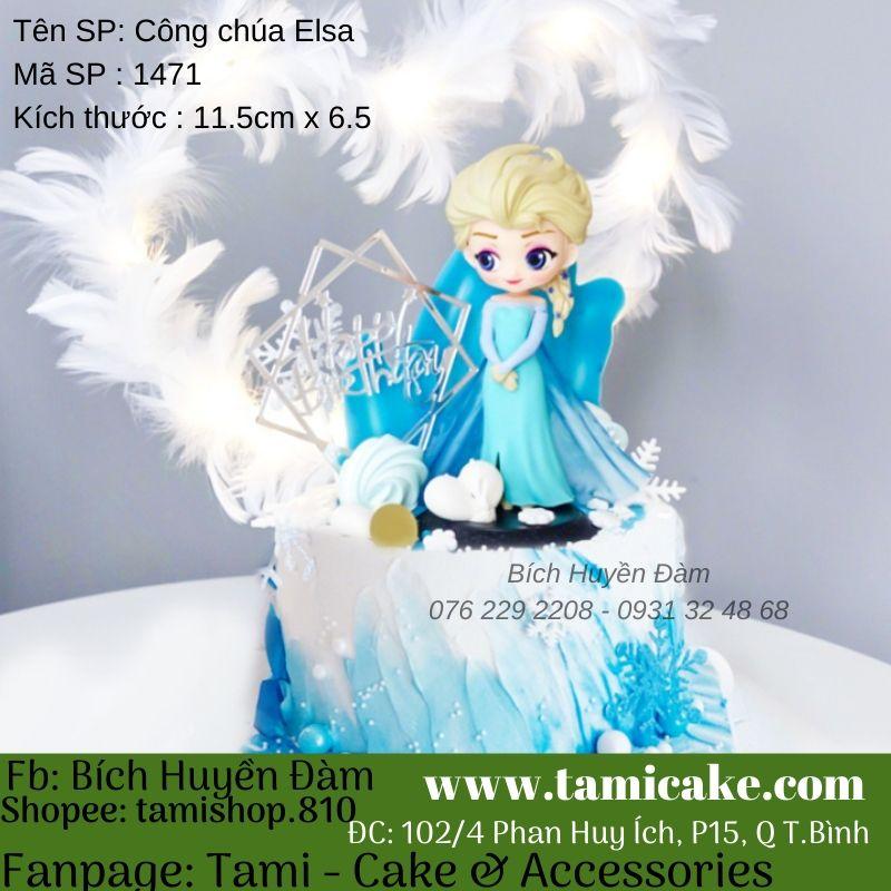 Phụ kiện trang trí - Công chúa Elsa 1471