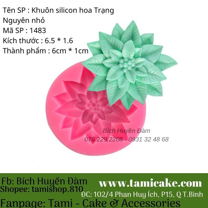 Khuôn silicon Hoa Trạng nguyên 1483