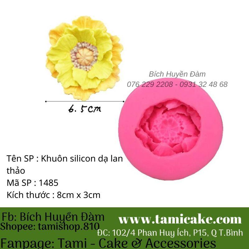 Khuôn silicon hoa dạ lan thảo 1485