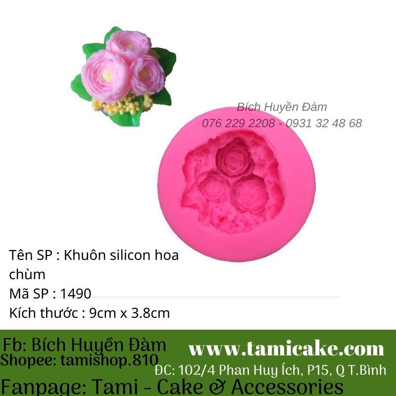 Khuôn silicon hoa 1490