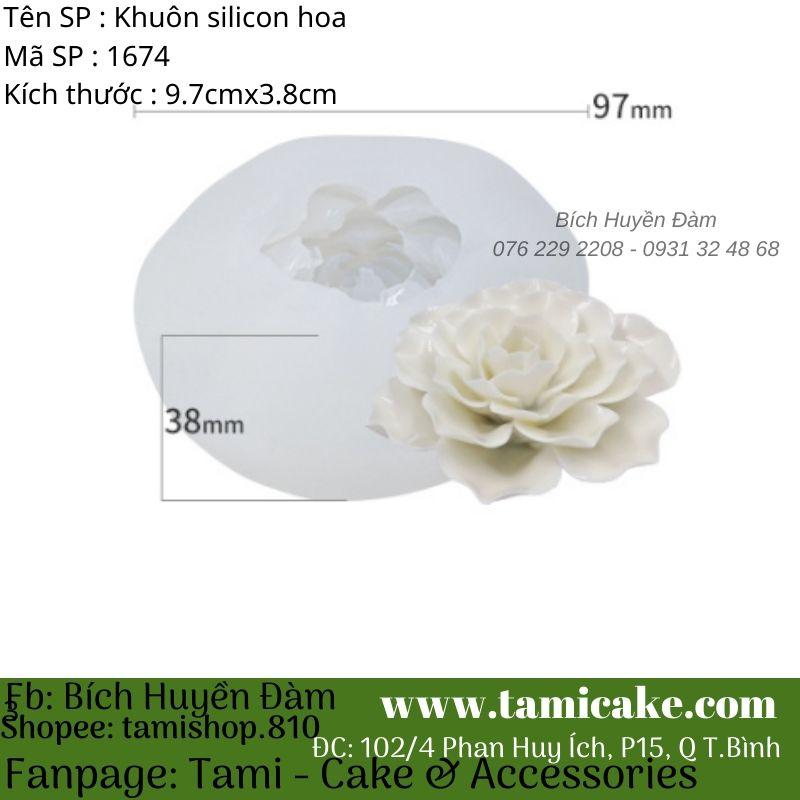 Khuôn silicon hoa 1674