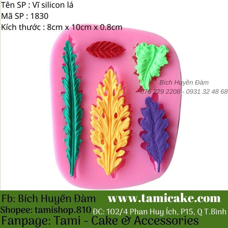 Vĩ silicon lá 1830