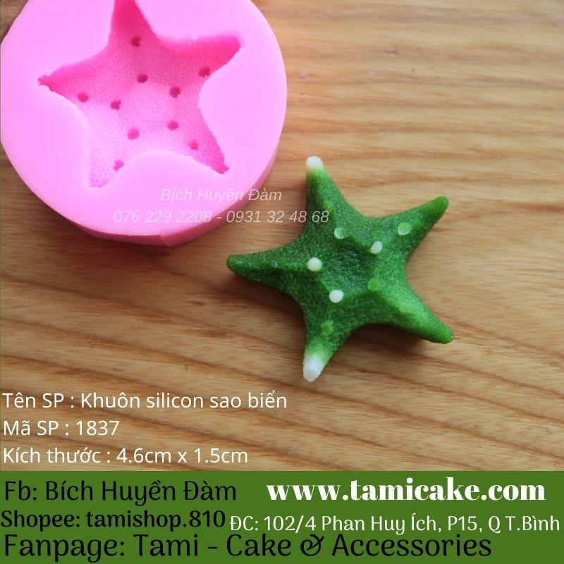 Khuôn silicon sao biển 1837