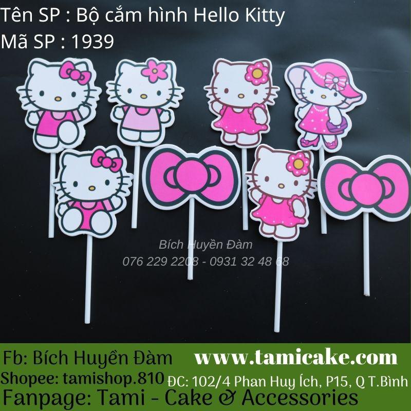 Bộ cắm hình Hello Kitty