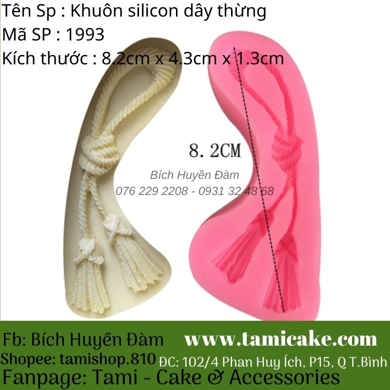 Khuôn silicon dây thừng 1993