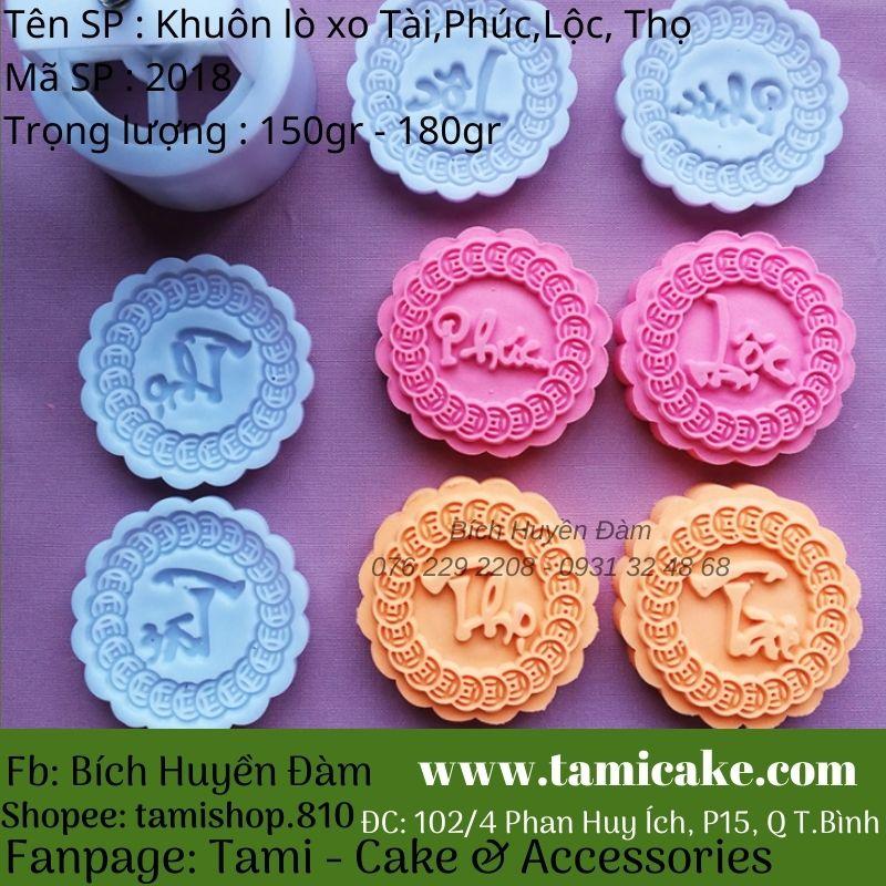Khuôn lò xo Tài, Phúc, Lộc, Thọ (150gr - 180gr)