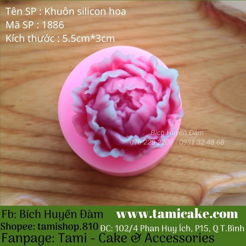 Khuôn silicon hoa 1886