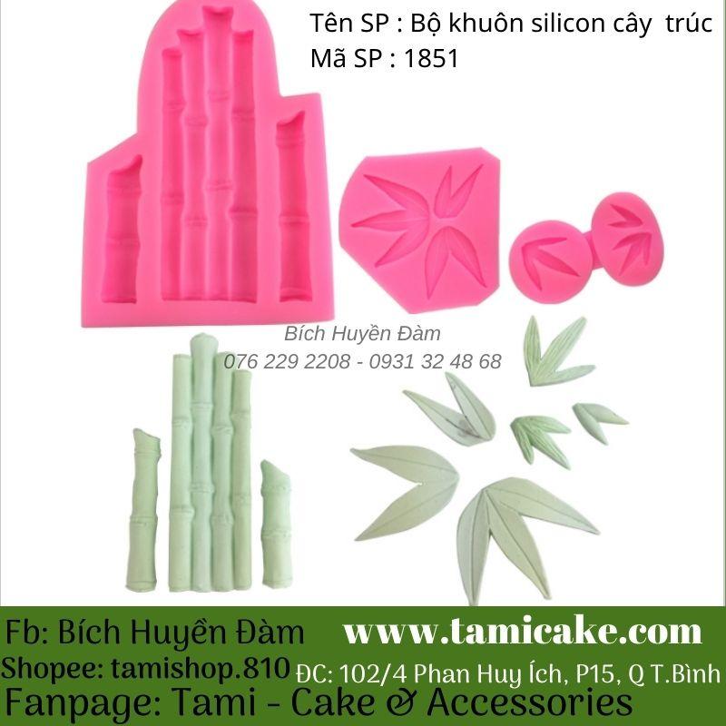 Bộ khuôn silicon cây trúc 1851