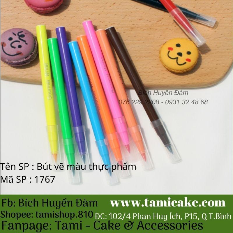 Bút vẽ màu thực phẩm (Màu Đen)
