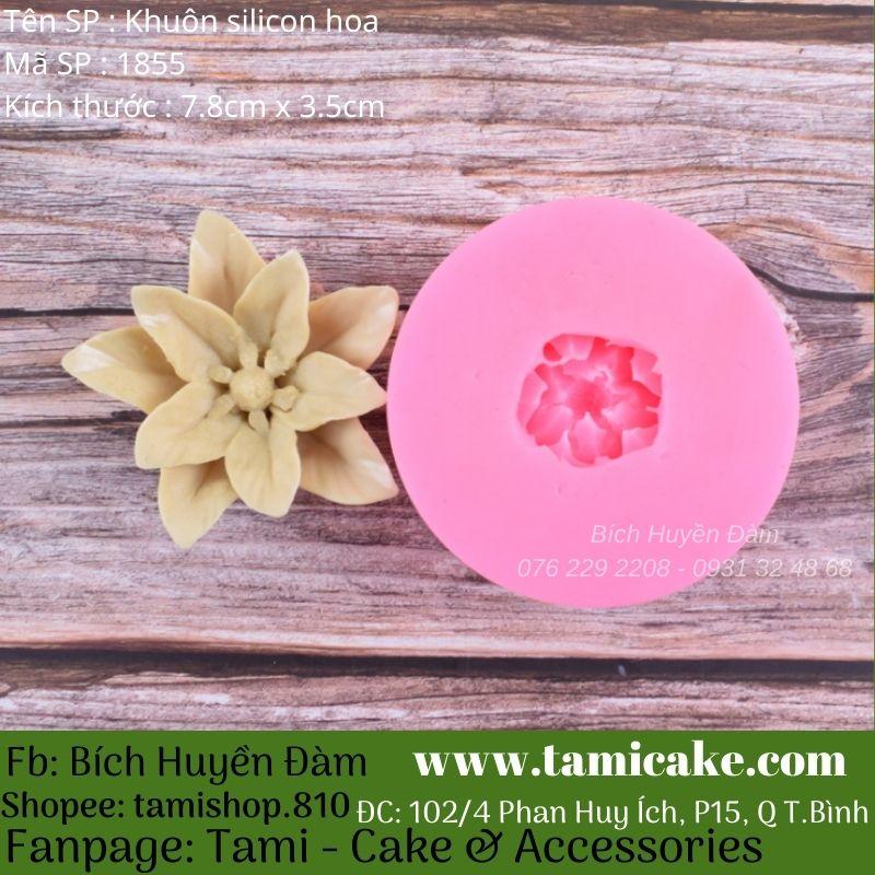 Khuôn silicon hoa 1855