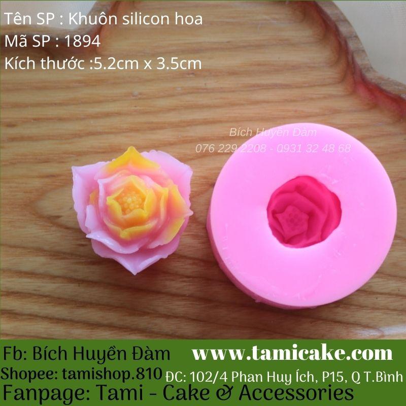Khuôn silicon hoa 1894