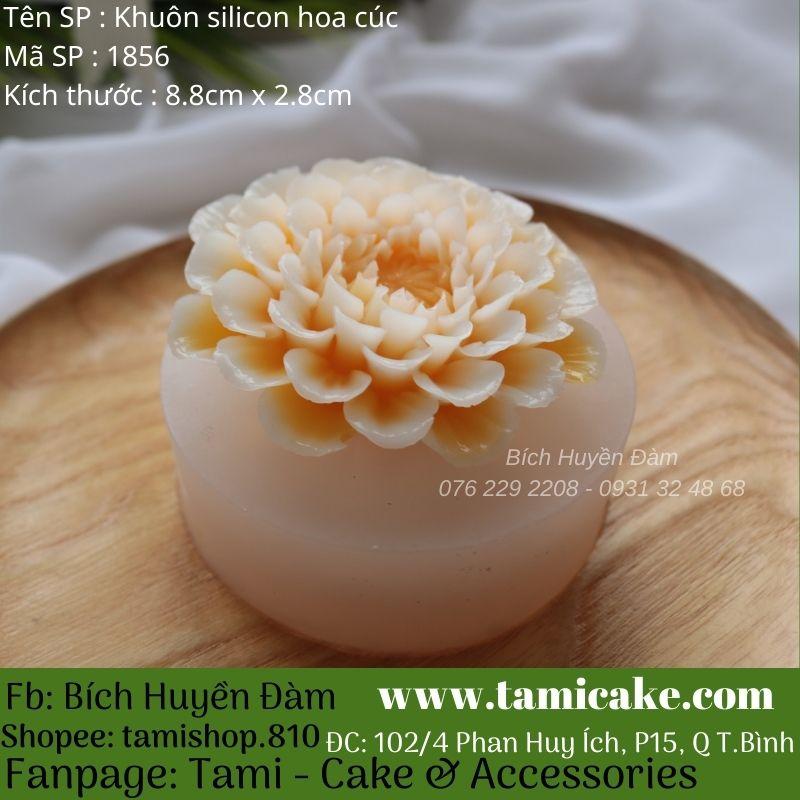 Khuôn silicon hoa cúc 1856