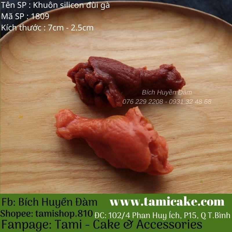 Khuôn silicon đùi gà 1809