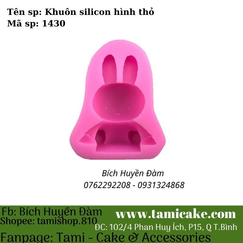 Khuôn silicon hình thỏ 1430