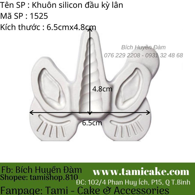 Khuôn silicon đầu kỳ lân 1525