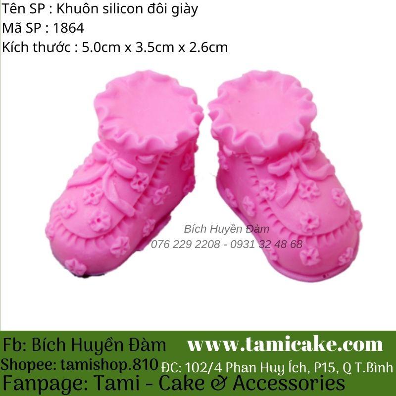 Khuôn silicon đôi giày 1864