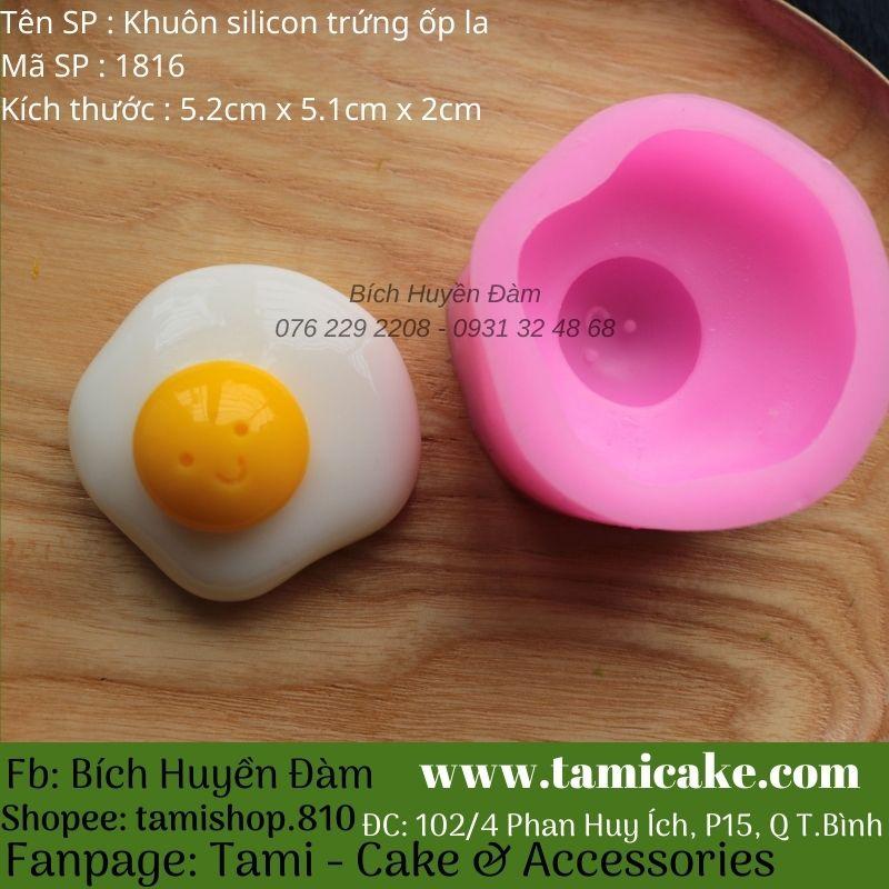 Khuôn silicon Trứng ốp la 1816