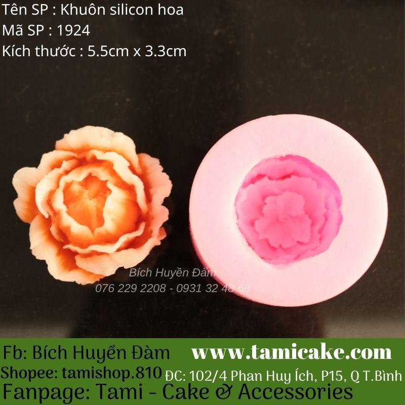 Khuôn silicon hoa 1924