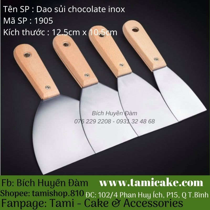 Dao sủi chocolate inox 1905
